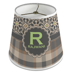 Moroccan Mosaic & Plaid Empire Lamp Shade (Personalized)