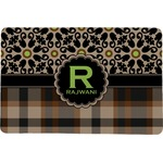 Moroccan Mosaic & Plaid Comfort Mat (Personalized)