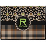 Moroccan Mosaic & Plaid Door Mat (Personalized)
