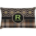 Moroccan Mosaic & Plaid Pillow Case (Personalized)