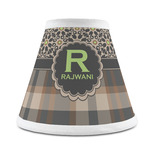 Moroccan Mosaic & Plaid Chandelier Lamp Shade (Personalized)