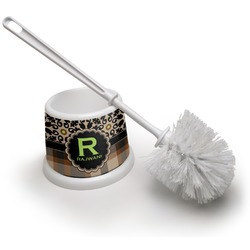 Moroccan Mosaic & Plaid Toilet Brush (Personalized)