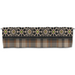 Moroccan Mosaic & Plaid Valance (Personalized)