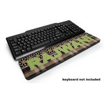 Moroccan Mosaic & Plaid Keyboard Wrist Rest (Personalized)