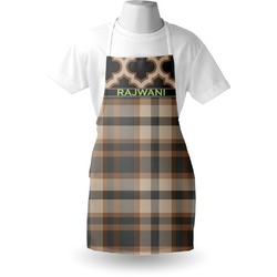 Moroccan & Plaid Apron (Personalized)
