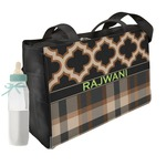 Moroccan & Plaid Diaper Bag (Personalized)