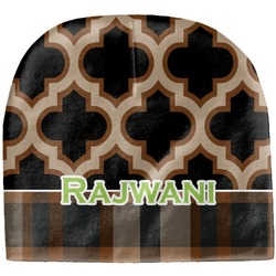 Moroccan & Plaid Baby Hat (Beanie) (Personalized)