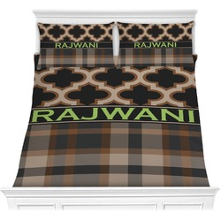 Moroccan & Plaid Comforters (Personalized)