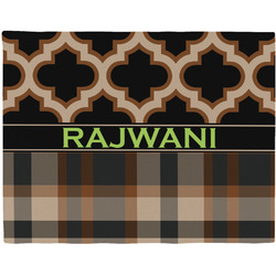 Moroccan & Plaid Placemat (Fabric) (Personalized)
