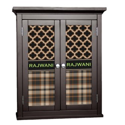 Moroccan & Plaid Cabinet Decal - XLarge (Personalized)