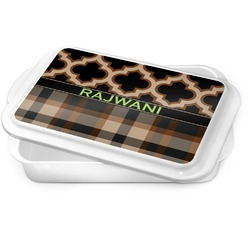 Moroccan & Plaid Cake Pan (Personalized)