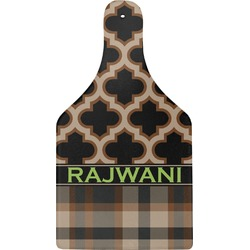 Moroccan & Plaid Cheese Board (Personalized)