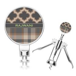 Moroccan & Plaid Corkscrew (Personalized)