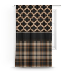 Moroccan & Plaid Curtain (Personalized)