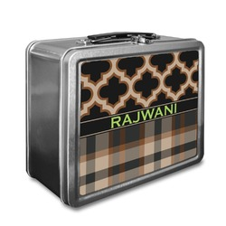 Moroccan & Plaid Lunch Box (Personalized)
