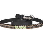 Moroccan & Plaid Dog Leash (Personalized)