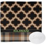 Moroccan & Plaid Wash Cloth (Personalized)