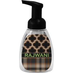 Moroccan & Plaid Foam Soap Dispenser (Personalized)