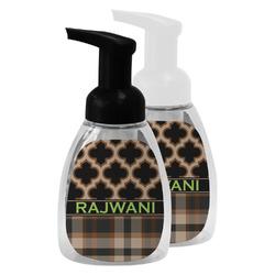 Moroccan & Plaid Foam Soap Bottle (Personalized)