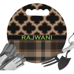 Moroccan & Plaid Gardening Knee Cushion (Personalized)