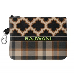 Moroccan & Plaid Golf Accessories Bag (Personalized)