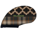 Moroccan & Plaid Golf Club Cover (Personalized)