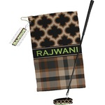 Moroccan & Plaid Golf Towel Gift Set (Personalized)