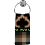 Moroccan & Plaid Hand Towel - Full Print (Personalized)