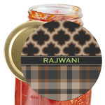 Moroccan & Plaid Jar Opener (Personalized)