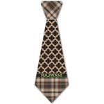 Moroccan & Plaid Iron On Tie - 4 Sizes w/ Name or Text