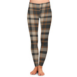 Moroccan & Plaid Ladies Leggings (Personalized)