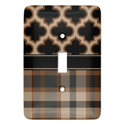 Moroccan & Plaid Light Switch Covers - Multiple Toggle Options Available (Personalized)