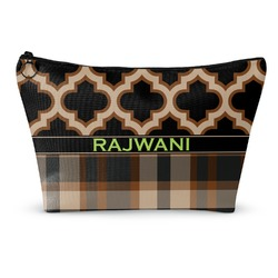 Moroccan & Plaid Makeup Bags (Personalized)