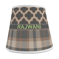 Moroccan & Plaid Empire Lamp Shade (Personalized)