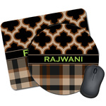 Moroccan & Plaid Mouse Pads (Personalized)