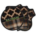 Moroccan & Plaid Iron on Patches (Personalized)
