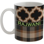 Moroccan & Plaid Coffee Mug (Personalized)