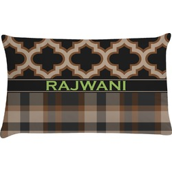 Moroccan & Plaid Pillow Case (Personalized)