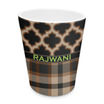 Moroccan & Plaid Plastic Tumbler 6oz (Personalized)
