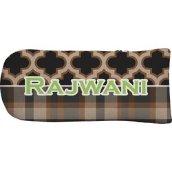 Moroccan & Plaid Putter Cover (Personalized)