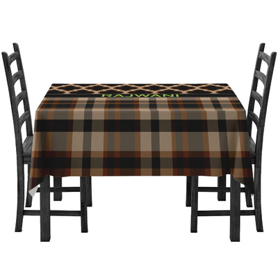 Moroccan & Plaid Tablecloth (Personalized)