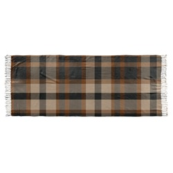 Moroccan & Plaid Faux Pashmina Scarf (Personalized)