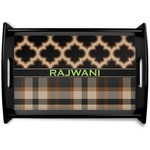 Moroccan & Plaid Wooden Trays (Personalized)