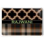 Moroccan & Plaid Serving Tray (Personalized)
