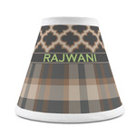 Moroccan & Plaid Chandelier Lamp Shade (Personalized)