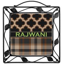 Moroccan & Plaid Trivet (Personalized)