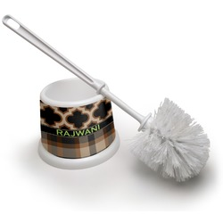 Moroccan & Plaid Toilet Brush (Personalized)