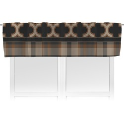 Moroccan & Plaid Valance (Personalized)