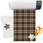 Moroccan & Plaid Heat Transfer Vinyl Sheet (12
