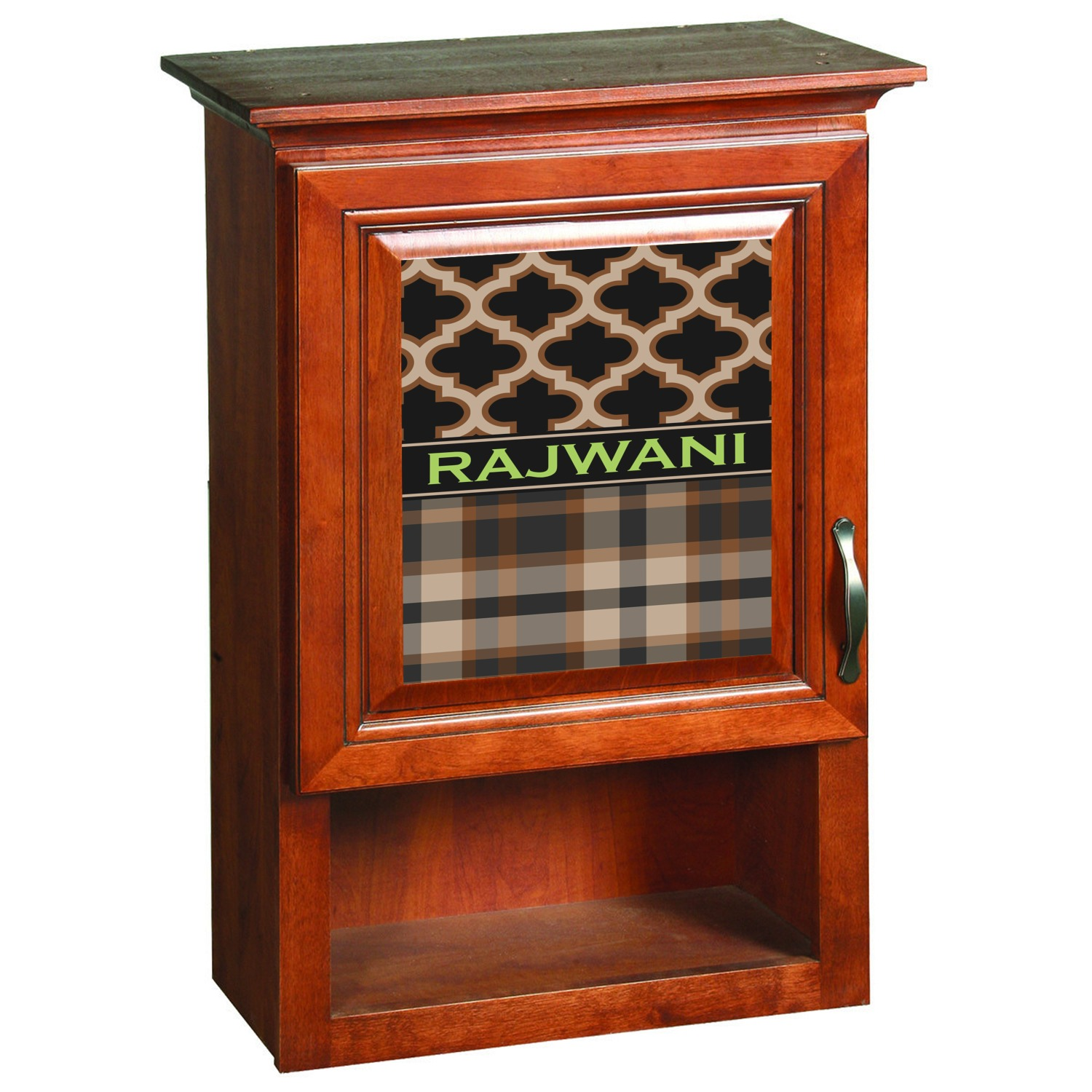 Moroccan U0026 Plaid Cabinet Decals Moroccan U0026 Plaid Wooden Cabinet Decal  (Medium) ...